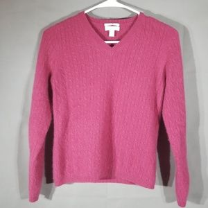 Fuzzy Cashmere Sweater D20